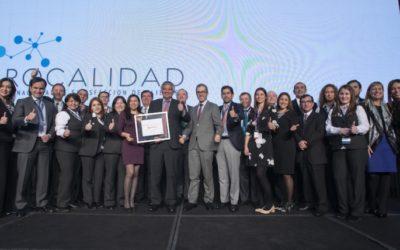 Coopeuch es nuevamente premiada por el servicio brindado a sus socios