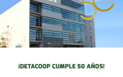 Carta por el 50 aniversario de Detacoop