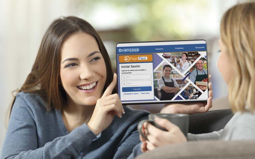 Plataforma digital Oriencoop facilita la entrega de servicios financieros en pandemia
