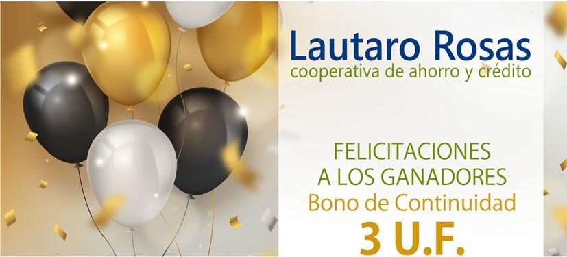 Lautaro Rosas premia a sus socios con el Bono Continuidad