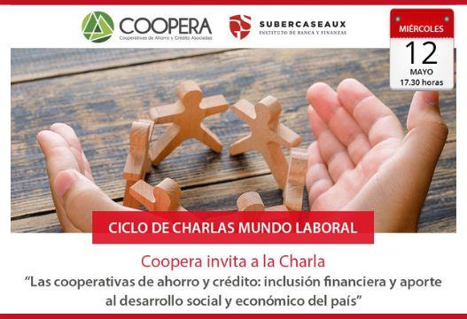 """Charla Instituto Guillermo Subercaseaux: """"Las cooperativas de ahorro y crédito y la inclusión financiera"""""""