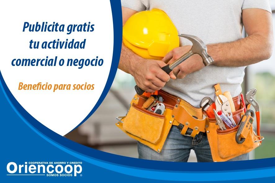 """""""Avisos Clasificados Oriencoop"""", una plataforma de apoyo para socios emprendedores"""